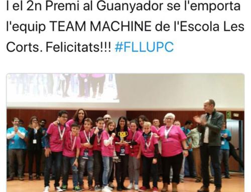 Els de 6è. es classifiquen per la Final FIRST LEGO League Espanya