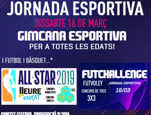 Horaris Jornada Esportiva 2019