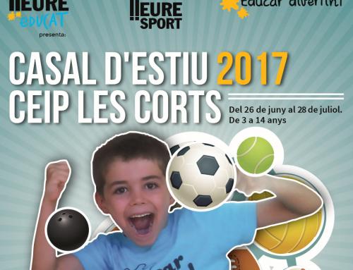 Casal d'estiu 2017 CEIP Les Corts