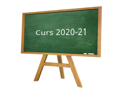 Activitats extraescolars i servei d'acollida / ludoteca – Curs 2020/21