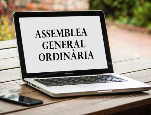 Convocatòria a l'Assemblea General Ordinària telemàtica