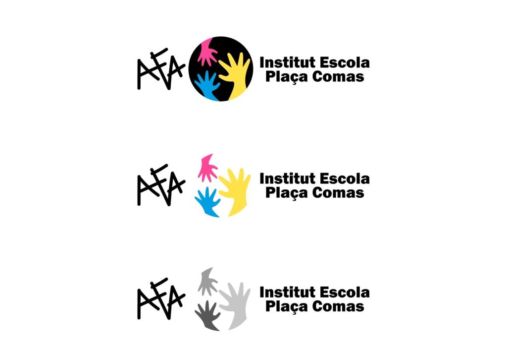 logo AFA IE Plaça Comas